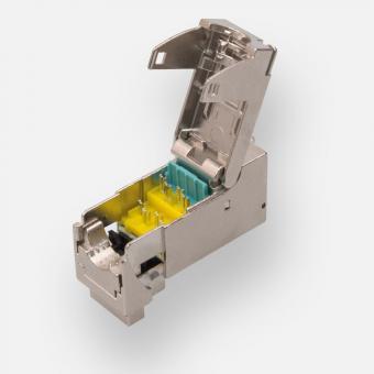 ClueNet Cat.6<sub>A</sub> RJ-45 Systemjack 10 GBit