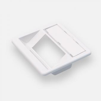 ClueNet Zentralplatte 50x50 mm, 2-fach