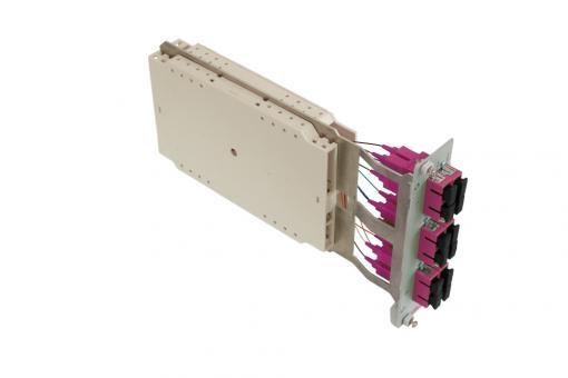 Moduleinschub 6 x SC duplex OM4 Pigtails